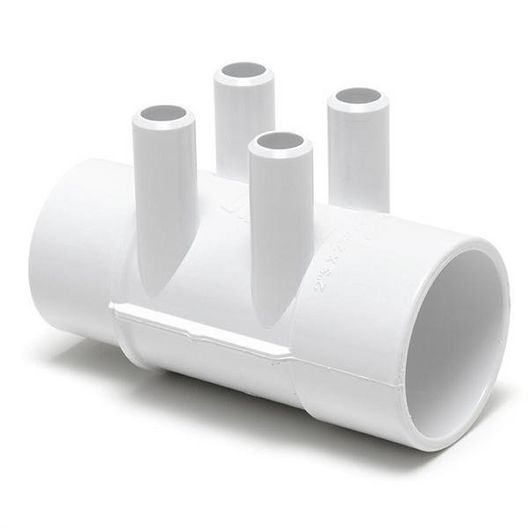 Waterway  Spa Manifold 2in S x 2in SPG (4 3/4in Barbed Ports