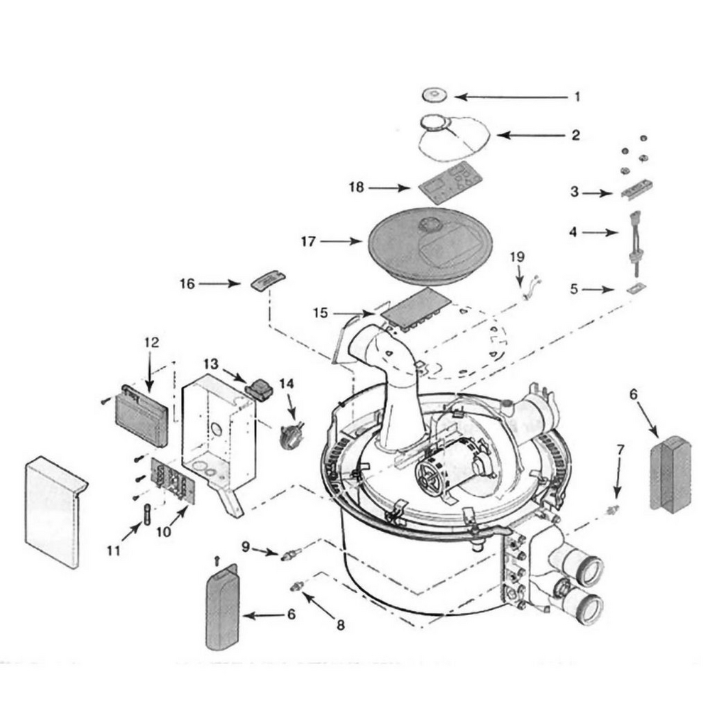 Sta-Rite Heater Max-E-Therm Electrical System image