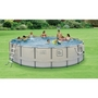 "15' Round Above Ground Pool with Metal Frame, 48"" Depth"