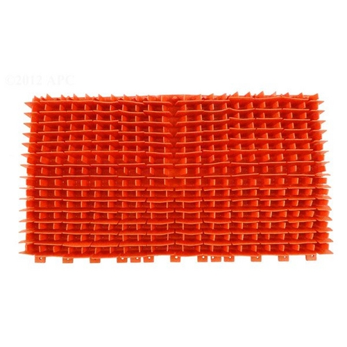 Maytronics - Replacement PVC Brush DIAG Red 3001