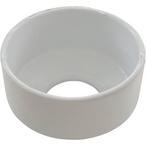 Perma-Cast  Escutcheon Plate Extra Tall  White Aluminum