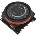 Diehl - 24 hr Spa Timer, SPST 240V, 4-Term Orange Panel Mount - 432865