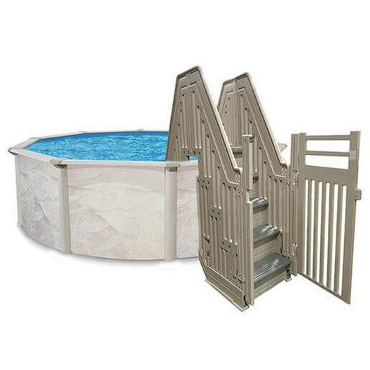 Confer - Confer Above Ground Pool Double Entry System - 43374