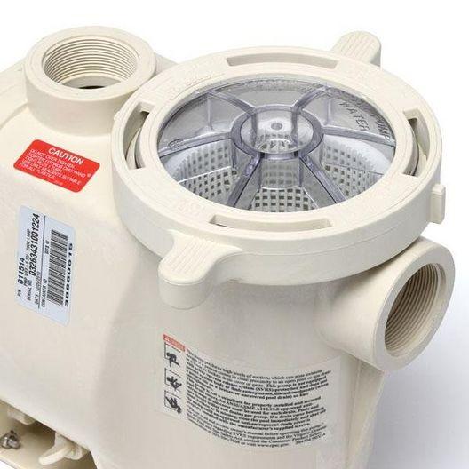 WhisperFlo 011516 Full-Rated Energy Efficient 3HP Pool Pump, 230V