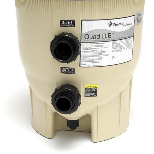 Quad DE 188592 60 Sq Ft In-Ground Pool DE Filter