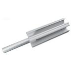 3 inch aluminum tube insert w/axle