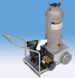 APC725 Scamp Portable Pump and Cartridge Filter Vacuum Service Cart