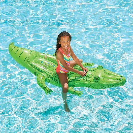 Leslie's  Large Crocodile Ride-On Pool Float