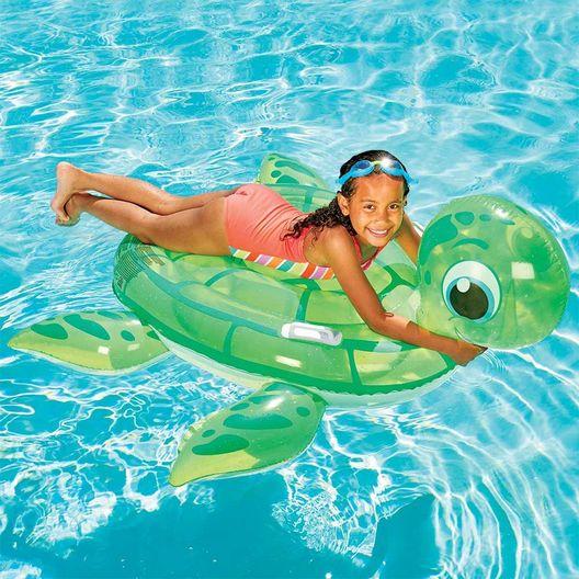 Turtle Ride-On Inflatable Pool Float