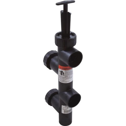 Valve, Push-Pull 8in. Center with Union, Black