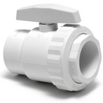 Hayward - Two Port 1-1/2in. FIP Pipe PVC Trimline Ball Valve - 44075