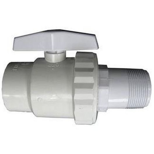 Ball Valve, Trimline 2-Way 1.5in. Mxsl