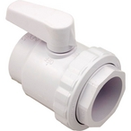 Hayward - Two Port 2in. SKT TrimelIne ABS Plastic Deluxe Ball Valve - 44077