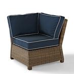 Bradenton Navy Cushion Corner Chair