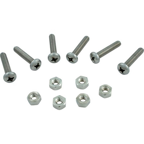 Hayward - Screw And Nut - Cover (Set Of 6)
