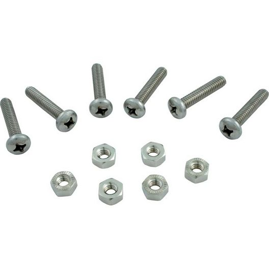 Screw And Nut - Cover (Set Of 6)