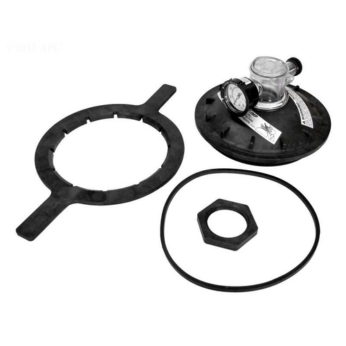 "Pentair - 154856 Triton Commercial Series Lid Closure Kit 8-1/2"" Buttress Thd Black"