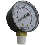 Gauge, Pressure 1/4in. Bottom Connection NPT 0-60 PSI 2in. Face OEM