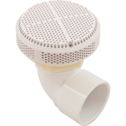 Waterway - VGB Compliant Suction Fitting, 90 degree, White - 447898