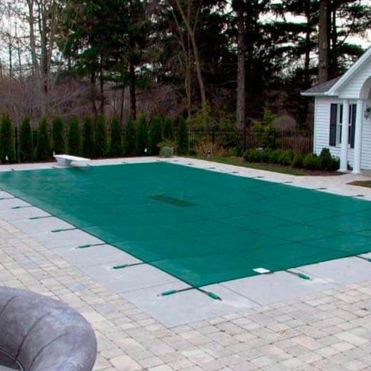 In The Swim Supreme Solid Safety Cover 20x40 ft Rectangle