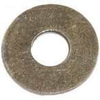 Washer, 3/4in. OD, 1/4in. ID, 1/16in. Thick, SS