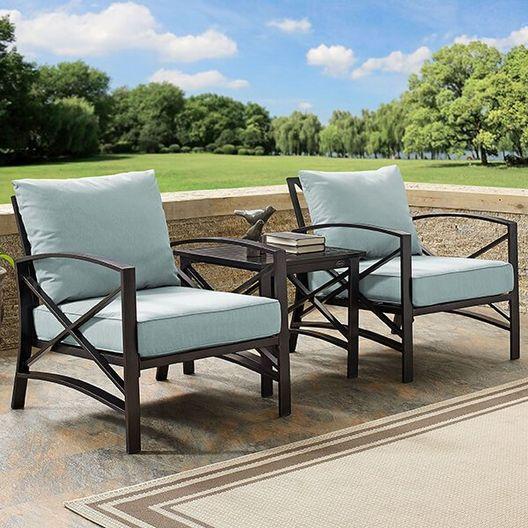Kaplan 3-Pc Outdoor Seating Set - MASTER-prod1720007