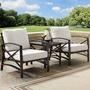 Kaplan 3-Pc Outdoor Seating Set