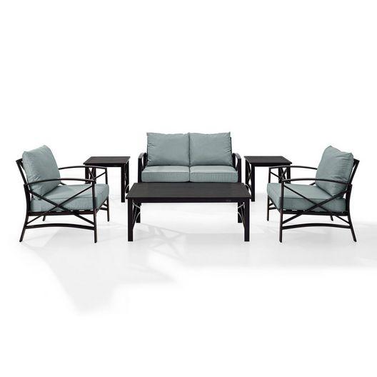 Kaplan 6-Pc Outdoor Seating Set - MASTER-prod1770013
