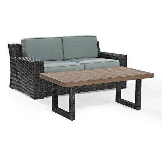 Crosley - Beaufort 2-Piece Wicker Set - 452057