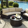 Catalina 2-Piece Wicker Sectional Set