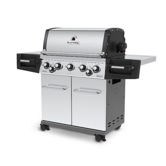 Broil King - Natural Gas Stainless Steel Grill, 55k BTU - 452734