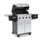 Propane Stainless Steel Grill, 50k BTU