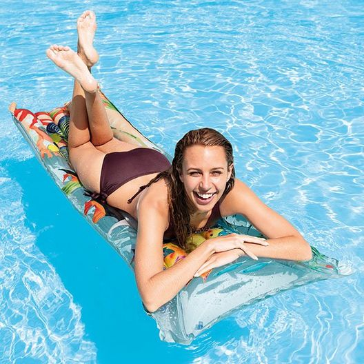 Fashion Mat Inflatable Pool Lounger - MASTER-prod1790047