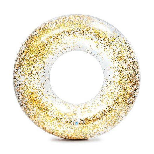 Intex - Gold Glitter Pool Tube - 452773