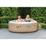 "77"" X 28"" PureSpa Bubble Massage Inflatable Spa Set, 4-Person"