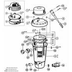 Hayward - Perflex EC50, EC50A D.E. Filter Parts - 4d2fa53f-9632-4bf9-9243-1738bf1f2e6a