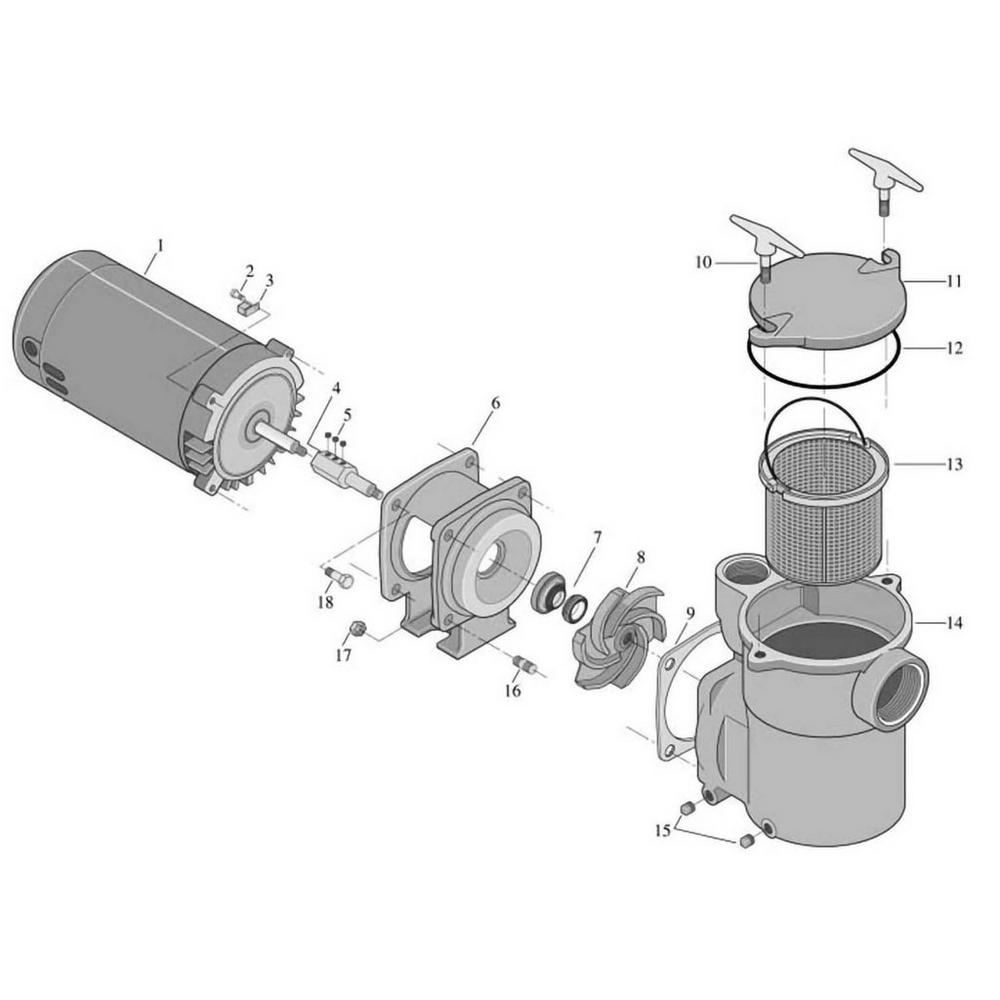 Sta-Rite CF6 Pump image