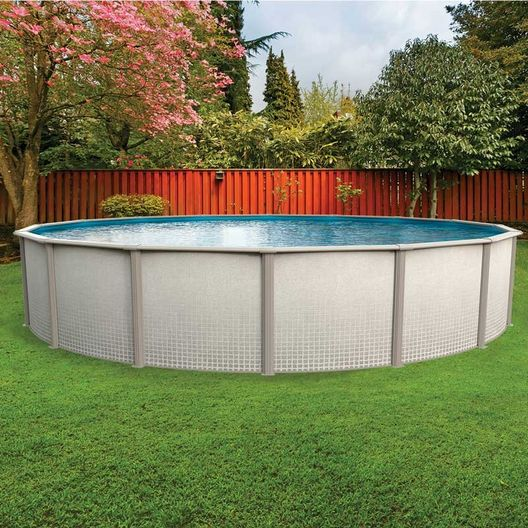 "Freestyle 12' Round 52"" Tall Above Ground Pool Wall"