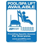 ADA Lift Available Sign - 501331