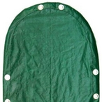 Leslie's - Deluxe 12 ft Round Above Ground Winter Cover, 12-Year Warranty - 501400
