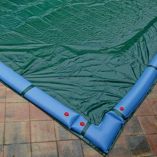 Deluxe 20' x 40' Rectangle In Ground Winter Cover, 12-Year Warranty