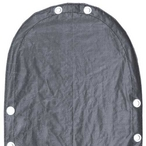 Steel Guard 16' x 25' Oval Above Ground Winter Cover, 15-Year Warranty