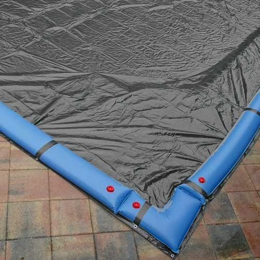 Steel Guard 20' x 40' Rectangle In Ground Winter Cover, 15-Year Warranty
