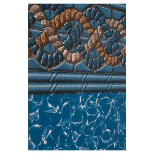 Swimline - Beaded 21' Round Mystri Gold 52 in. Depth Above Ground Pool Liner, 20 Mil - 503027