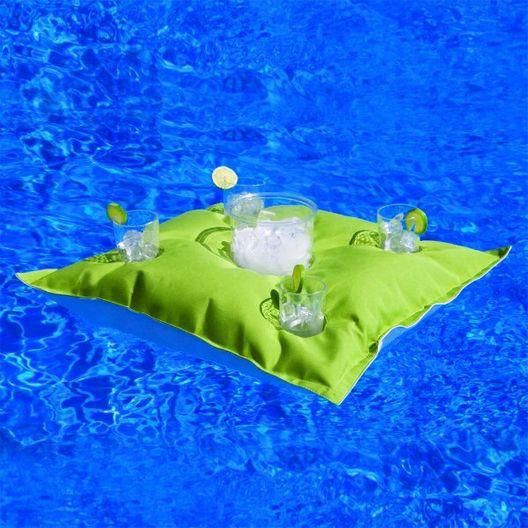 Floating Luxuries - Kai Cocktail Floating Caddy, Aquamarine - 503466