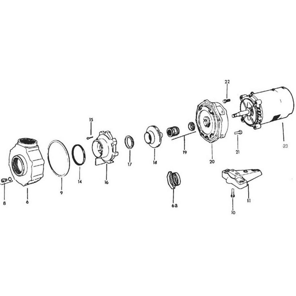 Jacuzzi RC Pump image
