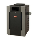 Raypak - 017367 Millivolt Bronze ASME Propane Gas 200,000 BTU High Altitude Commercial Pool Heater - 51674