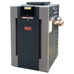 B-R266A-EP-X 266K BTU Natural Gas #59 ASME Cupro Nickel Commercial Pool Heater
