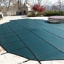 Pro SunBlocker Mesh 16' x 32' Rectangle Safety Cover, Green