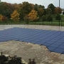 Pro SunBlocker Mesh 14' x 28' Rectangle Safety Cover, Blue